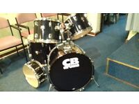 CB DRUMS (SP SERIES) SHELL PACK with SNARE (DRUMS ONLY - NO HARDWARE or CYMBALS)