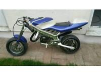 Petrol engine ride on mini midi moto