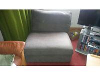 Kivik Ikea Single Grey Sofa
