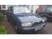LOOK 2000 SKODA FELICIA FABIA 1.3 PETROL LONG MOT CHEAP CAR