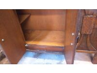 Cabinet/sideboard perfect for shabby chic project. 3 drawers, double doors