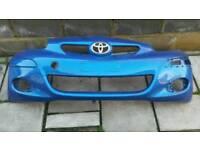 Toyota yaris front bumper