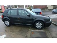 VW GOLF MK4 Black, 1.6 Automatic, full service History Recent Cambelt 12 Months MOT £600