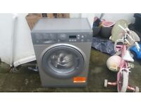 Hotpoint washing machine spares or repair crack in plastic drum causing leak otherwise works great.