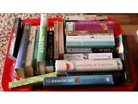 40+ books free. mostly fiction