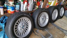 Bmw E39 alloys and tyres