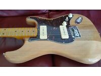 SX Deluxe Custom P90 Vintage Series Stratocaster Maple Neck