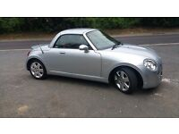 Superb Diahutsu Copen Roadster. Small Car with a big heart.