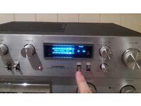 Vintage High-end (Pioneer SA-610) Stereo Amplifier (1979)(You-Tube)