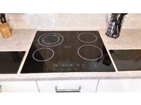 Hotpoint built in oven and worktop hob