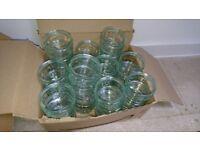 60 glass bowls / ramekins for desserts, crafts
