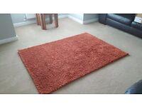 NEXT orange (rust) rug