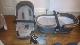 iCandy Peach3 pushchair and pram top. Excellent condition.