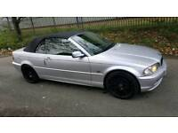 BMW 325I CONVERTIBLE SILVER AUTOMATIC
