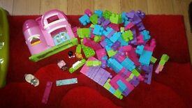 Girls mega blocks
