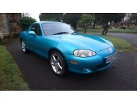 MAZDA MX-5 1.8 sport 2dr with Hard top soft top in great working order only 78k 1 keeper from new