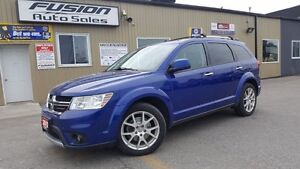 2012 Dodge Journey R/T-AWD-7 PASS-NAVIGATION-LEATHER