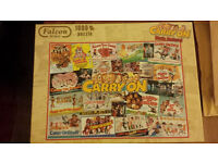Carry on Movie Posters 1000 Piece Jigsaw Puzzle
