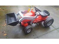 Garden tractor, swing car, go kart