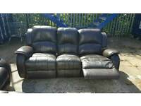 Nice Recliner leather sofas for sale.
