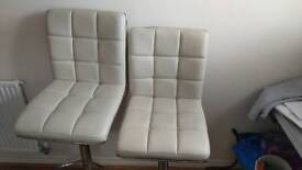 Two Breakfast Bar Chairs £10 for both