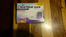 Only £30.00..brand new clearblue fertility monitor and 19 test sticks
