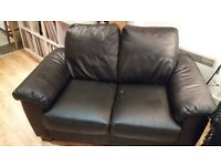 2 Seater Sofa - Black