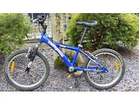 """20"""" Mountain Bike. Kids Mongoose Mt Grizzly 7 speed in Blue"""