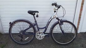 Adults 26inch wheel, trek ladies bike.