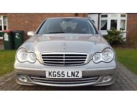 Mercedes C200 avantgarde model, REDUCED BUY NOW, auto, silver, alloy wheels, full black leather