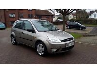 03 Fiesta 1.4 // New MOT, Technically perfect! + Rare SUNROOF!! //