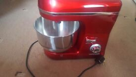 NEW Morphy Richards Stand Mixer Red 5L 800watt 6 speeds