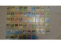 57 First Edition Neo Genesis Pokemon Cards