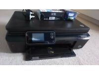 HP ALL-IN-ONE, WiFI PRINTER (WITH INK!!)