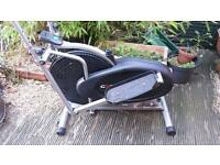 Exercise bike & elliptical trainer