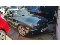 2005 (Reg-55) BMW Z4 CONVERTIBLE, MANUAL PETROL GOOD CONDITION
