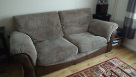 Very Comfortable Brown Settee *price dropped*