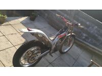 250cc 250 Beta techno douche lampkin replica