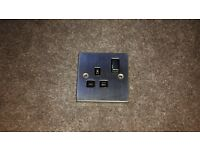 Clic Deco Victorian Stainless Steel Single Sockets x 6