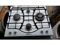 Hotpoint 4 burner gas hob - perfect working order