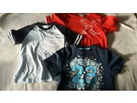 Selection of Boys t-shirts