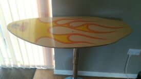 skimboard table