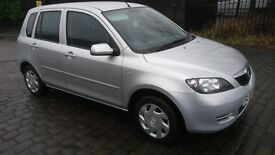 Mazda2 1.4 Antares 5dr Silver Electric windows Air con. ONLY 21.000 MILES FULL 12 MONTHS MOT