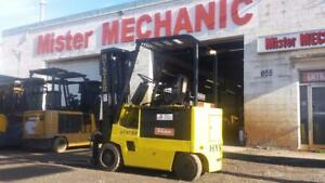 Hyster 5000lb Electric Triple Mast - Blowout at $4995.00