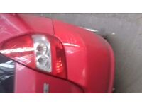 HONDA JAZZ 2004 2002 FRONT BUMPER RED