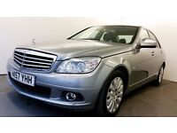 2007 | Mercedes-Benz C220 CDI Elegance | FULL MERCEDES SERVICE INVOICES | BLUETOOTH| LEATHER SEATS |