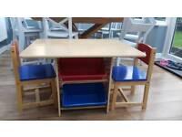 Kiddicraft children's table