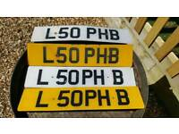 Persionised number plate