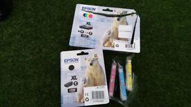 brand new full set epson 26XL ink