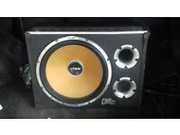 15inch vibe cbr 2000w sub with built in amp